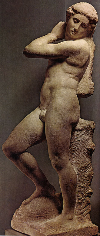 Apollo (Michelangelo) - An unfinished statue ascribed to Michelangelo - National Museum of the Bargello