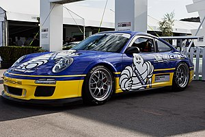 Michelin - Michelin is the official tyre supplier of the Porsche 911 GT3 Cup cars used in the Porsche Carrera Cup and the Porsche Supercup.