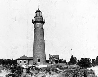 Middle Island Light lighthouse in Michigan, United States