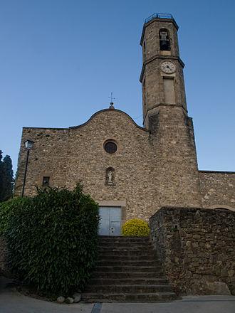 Mieres, Girona - Mieres church