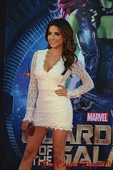 Mikaela Hoover - Guardians of the Galaxy premiere - July 2014.jpg