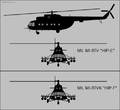 Mil Mi-8TV and Mi-8TVK silhouettes.png
