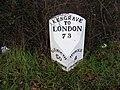 Milepost, Kesgrave - geograph.org.uk - 1132533.jpg