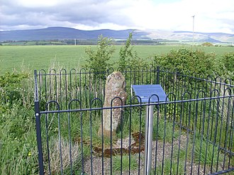 Milestone - Roman milestone on the former A66 between Kirkby Thore and Temple Sowerby (no inscription)