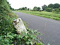 Milestone on the Royal Canal near Mullingar, Co. Westmeath - geograph.org.uk - 1406188.jpg