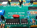Minimoog Voyager Performer All White circuit board - Oscillator section (by Audiotecna).jpg