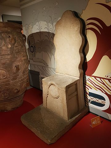 Ashmolean Museum Throne Room reconstruction