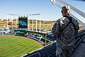 Missouri Guardsmen support 2014 World Series 141020-F-YI114-007.jpg
