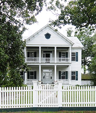 Mitchell-Shealy House - Mitchell-Shealy House, August 2012