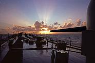Mitscher DDG35 Sunrise Jan 1975