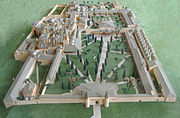 Scale model of the inner part of the palace (2nd-4th courtyards)