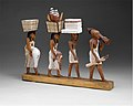 Model of a procession of offering bearers MET DT224780.jpg