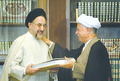 Mohammad Khatami and Akbar Hashemi Rafsanjani - Appreciation of Expediency Discernment Council for Khatami - July 30, 2005.png