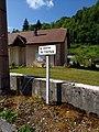 Moirans-en-Montagne - Montée du Château - plaque (juil 2018).jpg