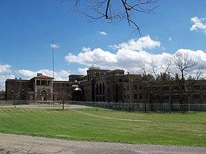 Nimishillen Township, Stark County, Ohio - Molly Stark Sanitarium on Columbus Road