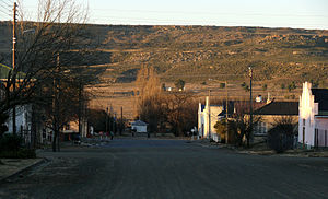 Molteno, Eastern Cape - Image: Molteno straattoneel 5