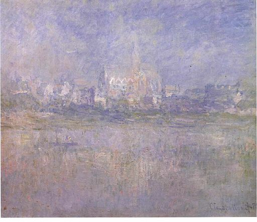 Monet - Vetheuil im Nebel