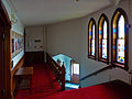 Monroe Methodist Church narthex stairs.jpg
