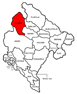 Plužine Municipality in مونٹینیگرو
