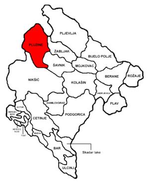 Plužine Municipality - Image: Montenegro Plužine