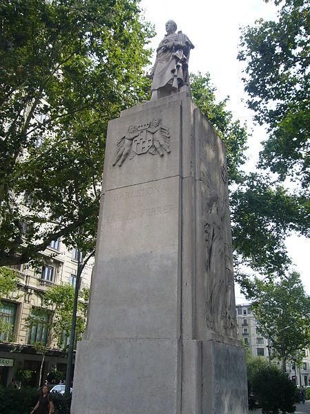 File:Monument a Güell i Ferrer - Barcelona 01.JPG