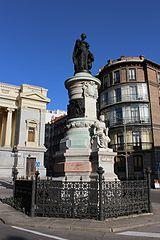 Monument to María Cristina de Borbón