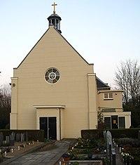 Moordrecht, Oosteinde 23 - RK kerk St. Johannes Onthoofding.JPG