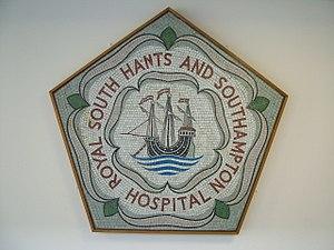 Royal South Hants Hospital - Image: Mosaic, Royal South Hants & Southampton Hospital (geograph 1984061)