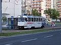 Most, 1. nám., tram 302 (01).jpg