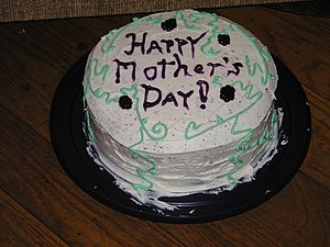 I decided to bake a cake for my mother-in-law ...