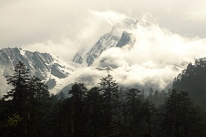Mount Gongga (Gonggashan Nature Reserve with WDPA ID 315667).jpg