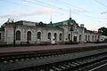 Mramorové nádraží ve Sljudjance 166 km na Krugobajkalce a 5311 km od Moskvy po Transsibiřské magistrále.jpg