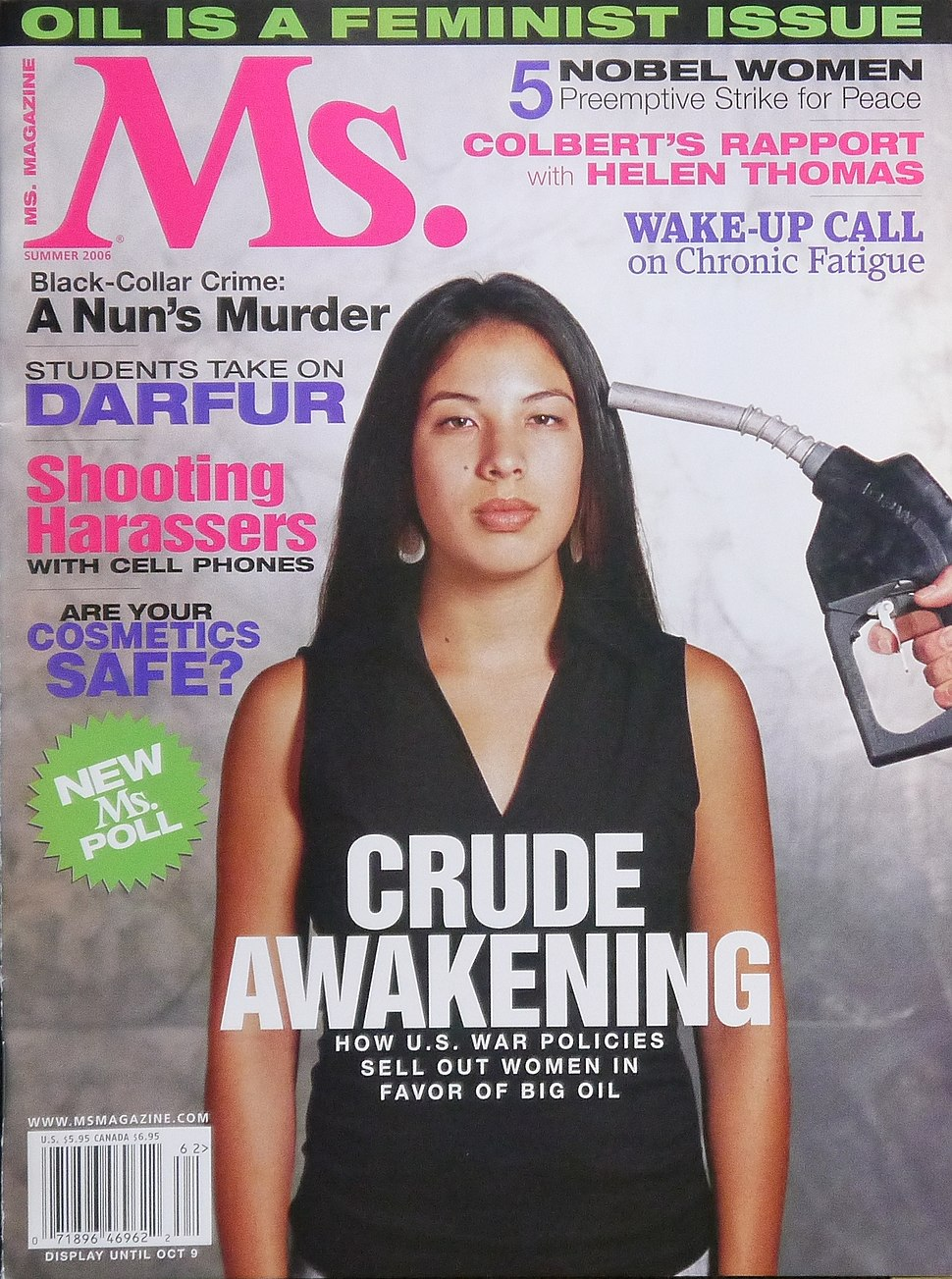 Ms. magazine Cover - Summer 2006