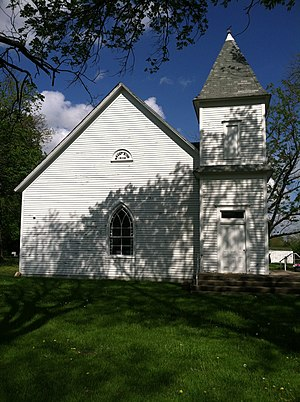 Battle of Mount Zion Church - Image: Mt. Zion Church west