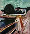 Munch Girls on the pier Kimbell.jpg