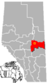 Mundare, Alberta Location.png