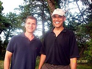 English: Tom Murro and President Barack Obama