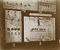 Musée égyptien - Intérieur d'une salle - bas-reliefs funéraires - Le Caire - Médiathèque de l'architecture et du patrimoine - AP62T163563.jpg