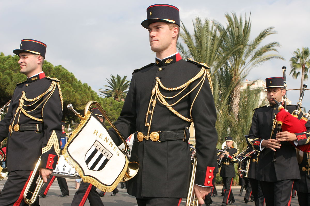 military and processional music
