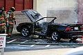 Mustang car fire at CVS on Key West Highway in North Potomac MD July 12 2012 (7575624452).jpg