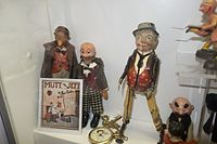 Mutt and Jeff and friends antique toys (27208052236).jpg