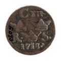 Mynt, 1718 - Livrustkammaren - 102550.tif