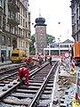Myslíkova, od Vojtěšské k Mánesu, rekonstrukce trati.jpg