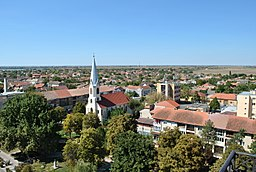 Nădlac - view from the church tower I.jpg