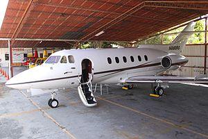 N880RG BAe.125 (7486529410).jpg