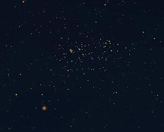 Caldwell catalogue - Image: NGC 3532 in Carina