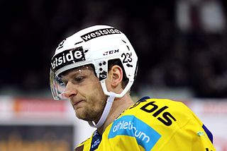 Swiss ice hockey player