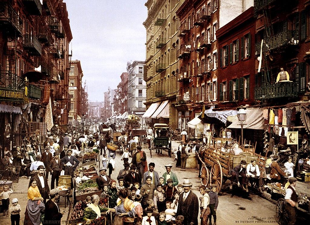 NYC Mulberry Street 3g04637u