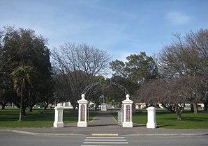 Martinborough - Martinborough's Memorial Square