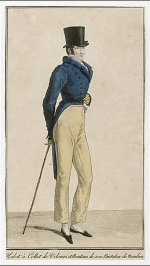 Nankeen - Nankeen trousers circa 1818